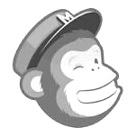 logo of Mailchimp, a third party the Collins Bookings Software integrates with